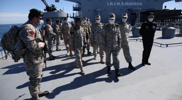Iran Pamer 2 Kapal Perang Baru dalam Latihan Tembak Rudal, Peringatan bagi Trump dan Biden