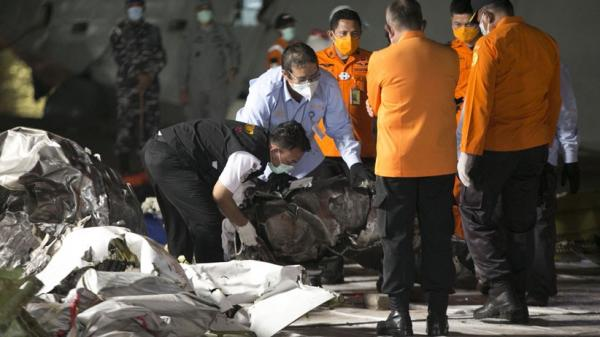 Tiba di Darat, Turbin Pesawat Sriwijaya Air Langsung Diperiksa Tim KNKT