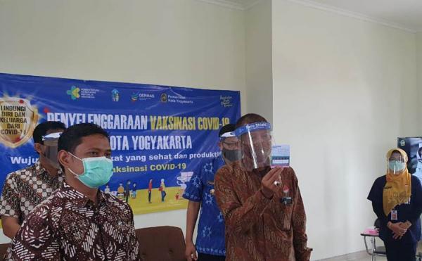 Belum Ada Laporan soal Efek Samping Vaksinasi Covid-19 di Yogyakarta