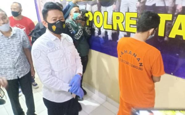 Zaki Vokalis Band Kapten Ditangkap Polisi Sedang Pesta Sabu di Kamar Kos