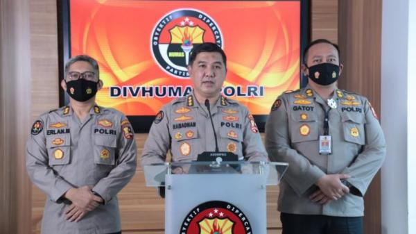 Polri Kembali Kirim Berkas Kasus Terorisme Munarman ke Jaksa
