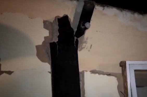 Video Bangunan Pesantren di Cianjur Roboh