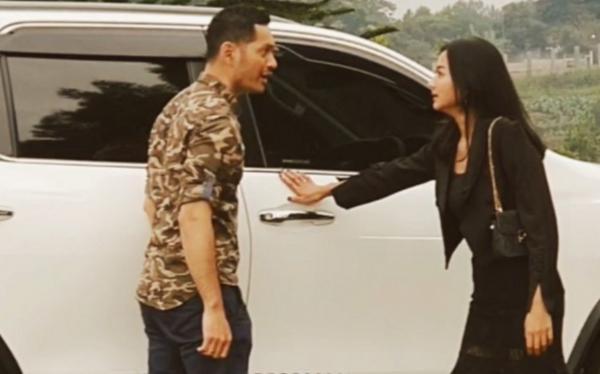Evan Sanders Unggah Video Behind the Scene Ikatan Cinta dengan Glenca Chysara, Netizen: Pasangan Tergokil