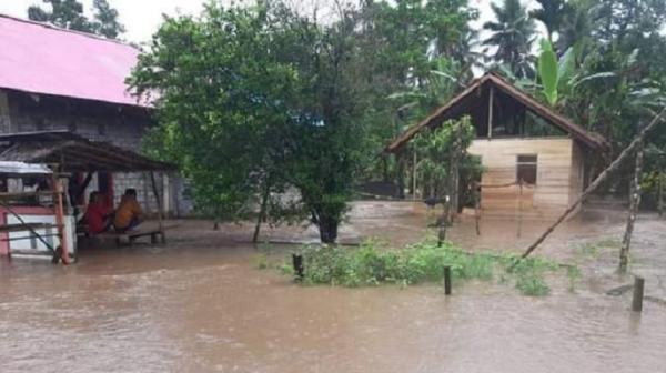Banjir di Halut, BPBD: Sebagian Warga Terdampak Sudah Kembali ke Rumah