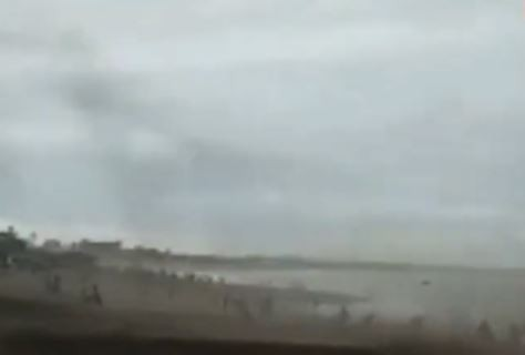 Video Puluhan Bangsal Nelayan Hancur Diterjang Puting Beliung
