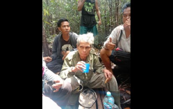 Hilang di Perbatasan Malaysia, Kakek Empati Ditemukan Selamat