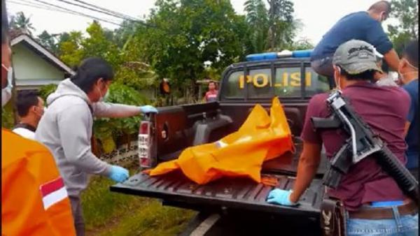 Pemuda di Tanggamus Ditemukan Tewas dengan Luka di Leher, Polisi Olah TKP