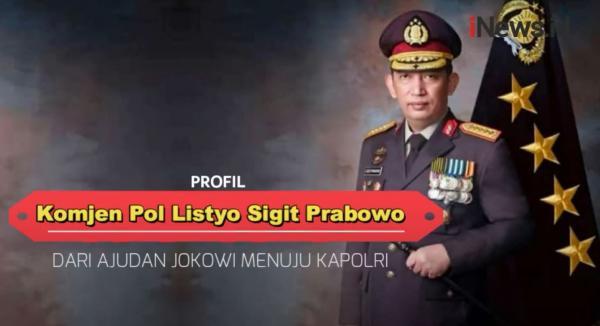 Video Profil Karier Kapolri Ke-25 Komjen Pol Listyo Sigit Prabowo