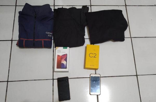 Gondol 3 Handphone, 2 Pencuri di Gunungkidul Diamankan Polisi