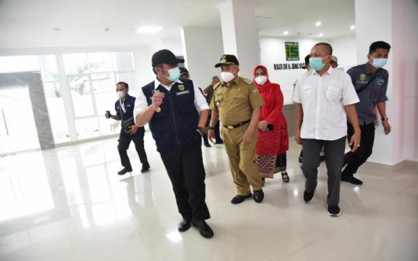 RSUD Ibnu Sutowo Baturaja jadi Rujukan, Gubernur Herman Deru: Perhatikan Tegur Sapa