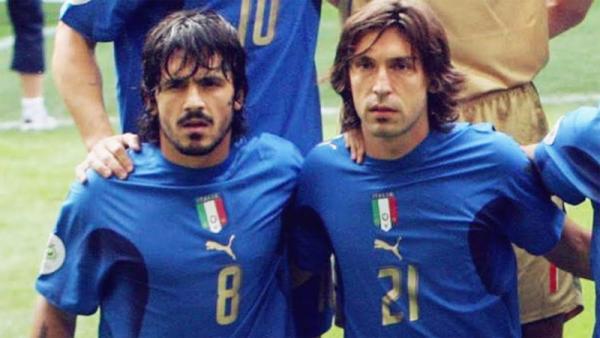 Juventus Vs Napoli, Gattuso Kenang Persahabatannya dengan Pirlo