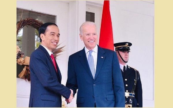 Jokowi Ucapkan Selamat ke Joe Biden : Mari Perkuat Kemitraan Strategis