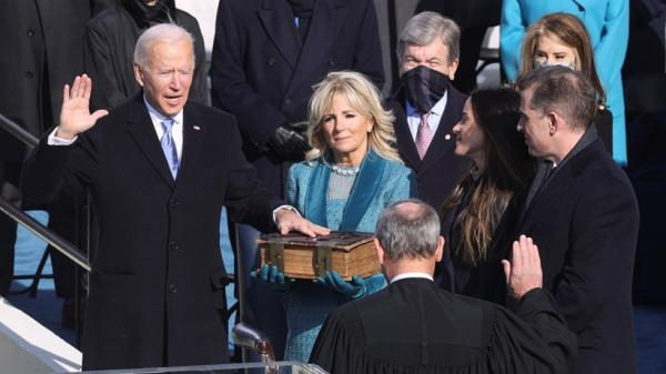 Momen Bersejarah, Joe Biden Dilantik sebagai Presiden AS ke-46