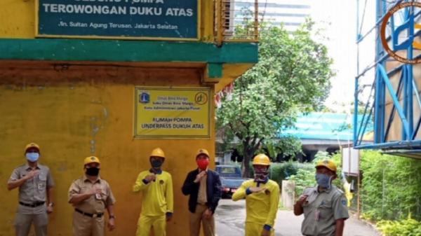 Cegah Sabotase Rumah Pompa Dukuh Atas, Pemkot Jakpus Bangun Posko