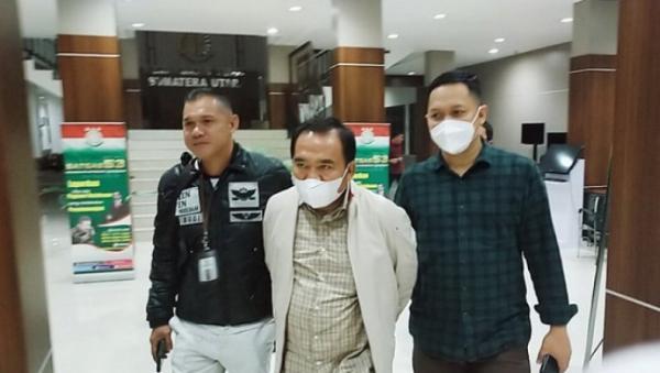 Buronan Koruptor Peta Rawan Bencana Ketua Inkindo Sumut Pendi Sebayang Ditangkap