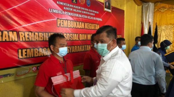 Lapas Padang Buat Program Rehabilitasi untuk 100 Narapidana Kasus Narkoba