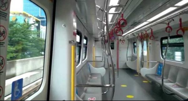 Okupansi Kecil dan Ditekan Pandemi, Begini Kondisi LRT Jakarta Gading-Velodrome