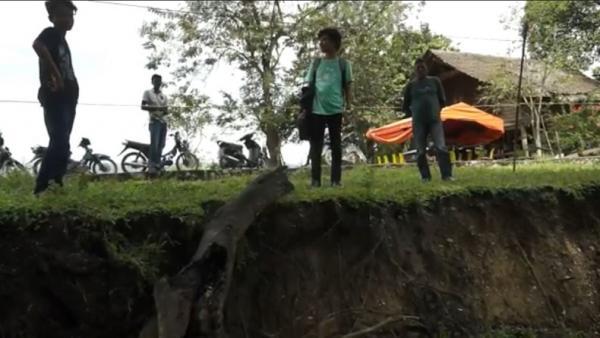 Tanah Bergerak di Aceh Besar Makin Parah, 14 Kepala Keluarga Terpaksa Diungsikan