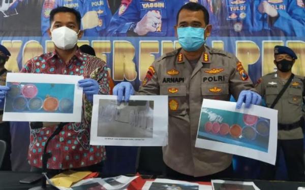 Polda Jatim Gagalkan Penjualan 3.149 Benih Lobster Ilegal, 2 Pelaku Ditangkap
