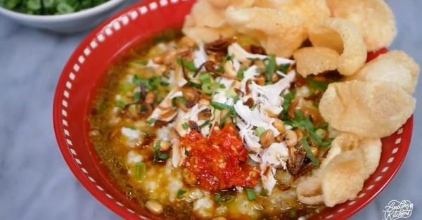Cara Membuat Bubur Ayam Kuah Kuning, Praktis Dimasak dengan Rice Cooker