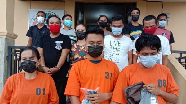 Gerebek Kampung Narkoba di Labuhanbatu, 12 Orang Diamankan Polisi
