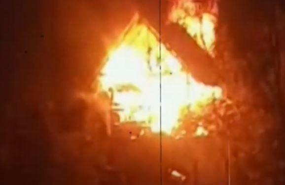 Video Pondok di Kalteng Terbakar, Satu Orang Tewas