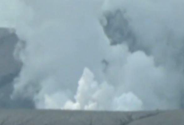 Video Aktivitas Vulkanik Gunung Anak Krakatau Meningkat