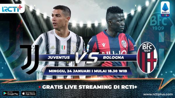 Live Streaming di RCTI+, Ini Prediksi Juventus Vs Bologna