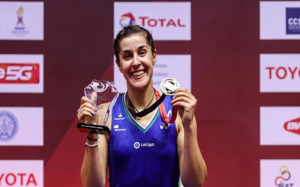 Hasil Lengkap Final Thailand Open 2021: si Cantik Carolina Marin Juara Lagi