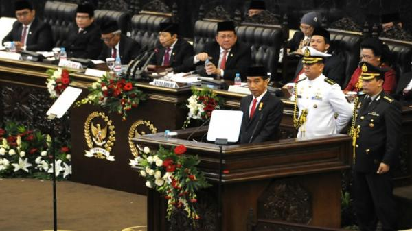 Potret Lawas Listyo Sigit Dampingi Jokowi, Fahri Hamzah dan Fadli Zon Mengawasi