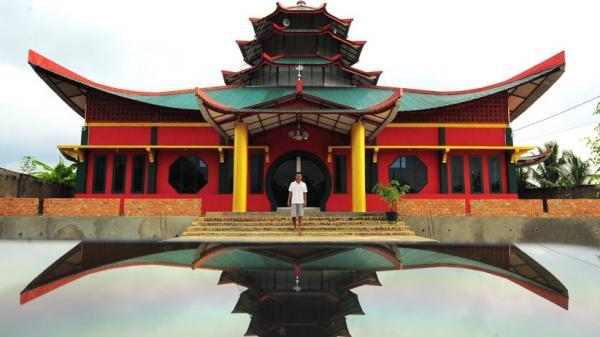 Melihat Pembangunan Masjid Laksamana Cheng Hoo Jambi