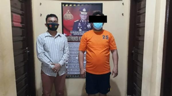 Seminggu Buron, Bandar Sabu di Labuhanbatu Ditangkap