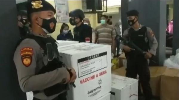 19.200 Dosis Vaksin Tiba di Banyumas, untuk Penyuntikan Nakes Tahap 1 dan 2