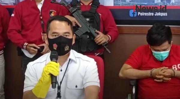 Video Polres Jakpus Tangkap Satu Penjambret Anggota Marinir Bersepeda