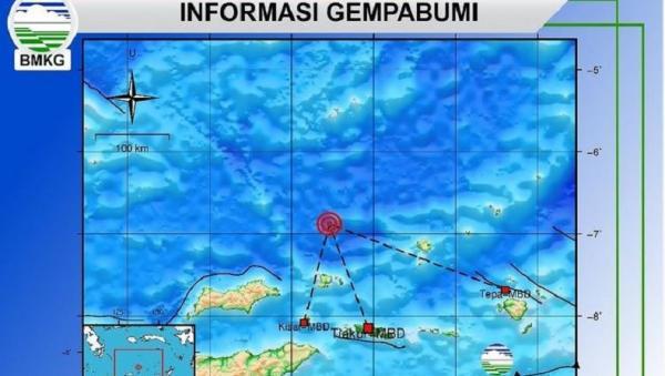 Gempa M4,7 Guncang Maluku Barat Daya, Tak Berpotensi Tsunami