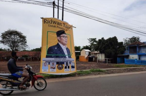 Banser Jabar Persoalkan Baliho Gubernur Jabar untuk Presiden 2024