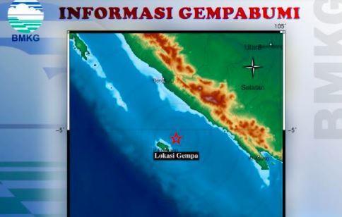 Gempa Bumi Terkini M3 2 Guncang Enggano Bengkulu Bmkg Tidak Berpotensi Tsunami Bagian 1