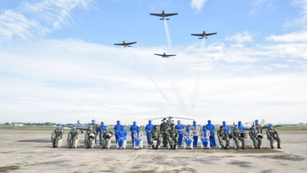 9 Penerbang TNI AL Gabung Pasukan Perdamaian PBB di Timur Tengah