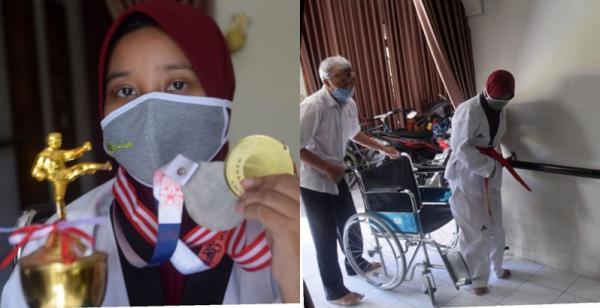 Kisah Perjuangan Gadis Cantik Jago Bela Diri Asal Sukoharjo Bertarung Melawan Stroke