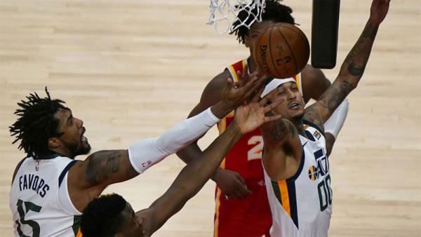 Libas Atlanta Hawks, Utah Jazz Raih Kemenangan Ke-13 dalam 14 Laga