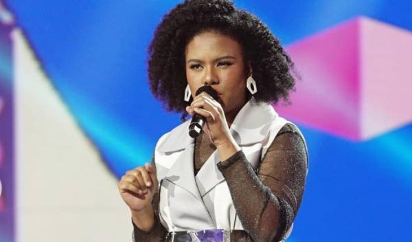 Jemimah Sukses Bawakan Lagu Sayang Milik Via Vallen, 5 Juri Beri Standing Ovation