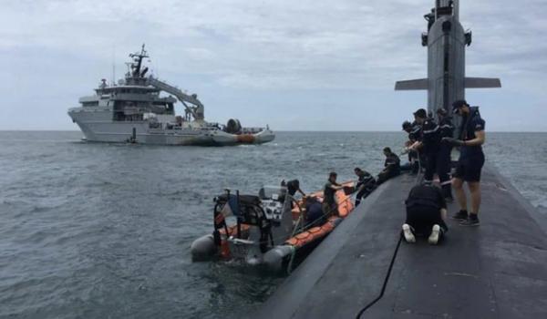Kapal Selam Prancis Ikut Patroli di Laut China Selatan Bersama AS dan Australia
