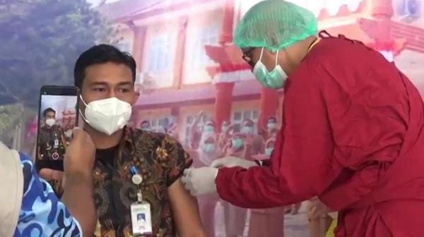 Vaksinasi Covid Perdana Digelar di Aceh Utara, 3 Pejabat Tak Lolos Screening Kesehatan