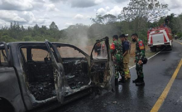 Dinas Kehutanan Kalbar Minta Pembakaran Mobil Polisi Hutan Diusut Tuntas