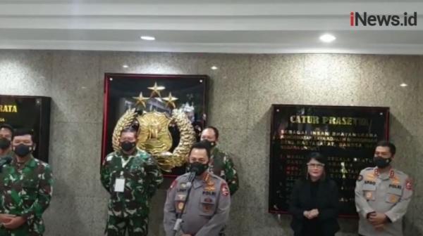 Video TNI-Polri Gelar Rapat Pimpinan Bahas Covid-19 hingga Sinergitas