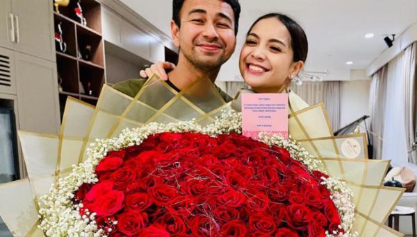 So Sweet, Raffi Ahmad Beri Kado Spesial untuk Nagita Slavina di Hari Valentine: Bukan Endorse