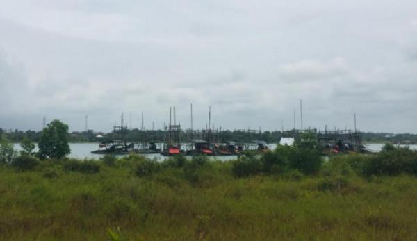 Penambang Timah Ilegal di Bangka Tengah Diultimatum 3x24 Jam Tinggalkan Lokasi