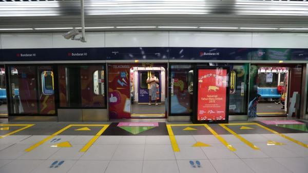 MRT Ubah Jadwal Operasional, Selang Waktu Berangkat 5 Menit pada Jam Sibuk