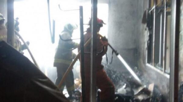 Kebakaran di Kramat Jati, Penghuni Kos Luka Bakar