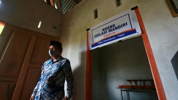 Desa Talulobutu Bone Bolango Miliki Rumah Iolasi Mandiri Covid-19